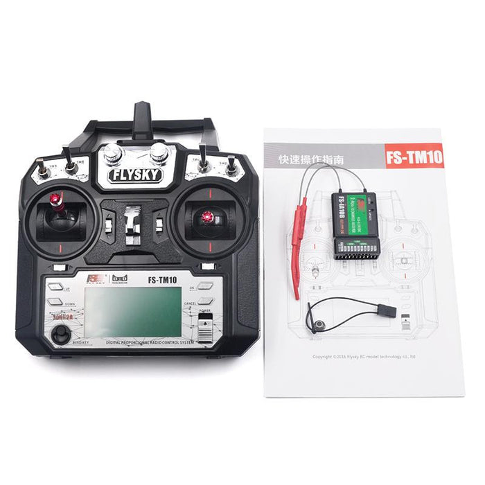 Flysky FS-TM10 Transmitter for Quadcopter Drone with iA6B Receiver 10CH