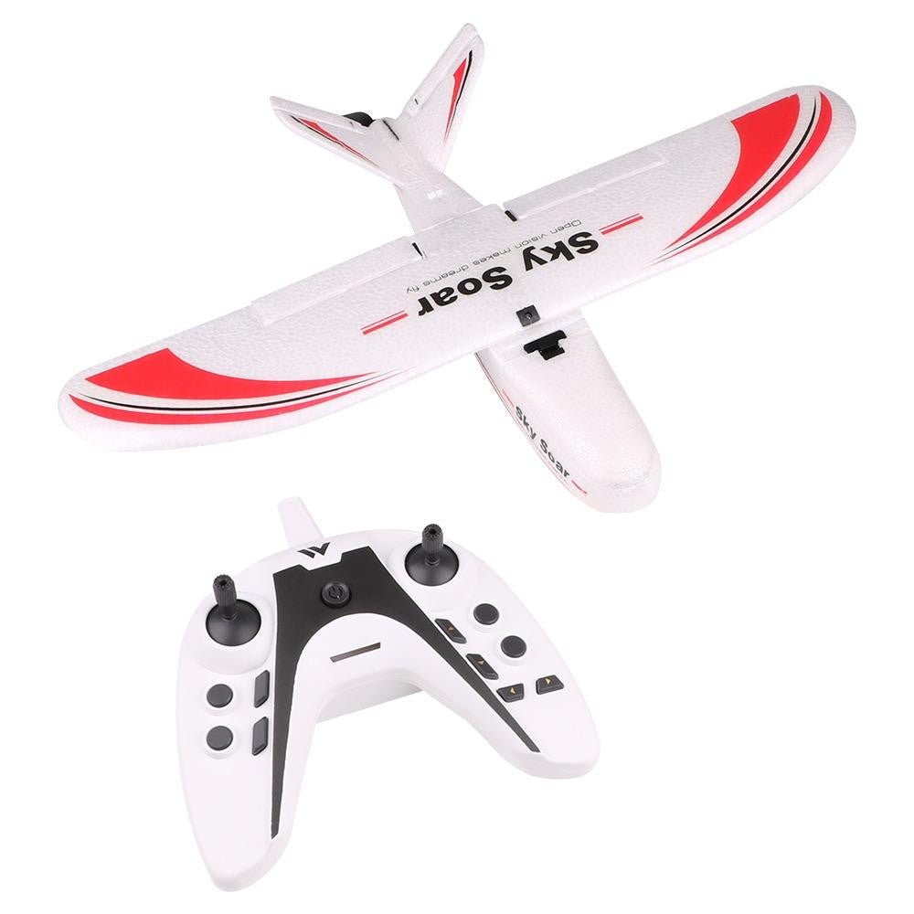 Sky Soar P01 Mini Radio Control RC Plane 3CH with Durable EPP Material  Auto Leveling RTF