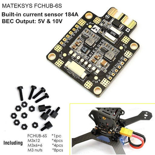 Matek PDB Hub for FPV Racing RC Drone Quadcopter by Makerfire