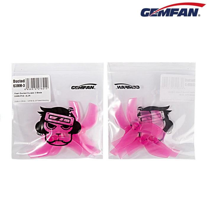GEMFAN D63 DUCTED 63MM 3 BLADE CINEWHOOP PROPELLER(16pcs)
