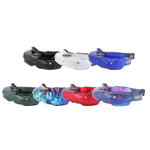 SKYZONE SKY02X 5.8G 48CH Diversity FPV Goggles With Head Tracker Support DVR HDMI Headsets