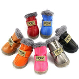 Dog Waterproof Cotton Non Slip Boots