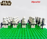 Star Wars Mini toy STORM TROOPER CLONE TROOPER  20pcs/lot