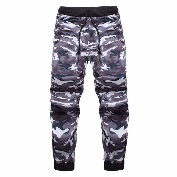 Men Army Camouflage Sweatpants Casual Joggers