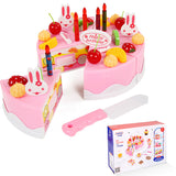 Pretend Kitchen Cutting Birthday Cake 38-75pcs