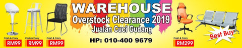 Showroom clearance sale at M&N Office Furniture Store at Bandar Teknologi Kajang, Selangor