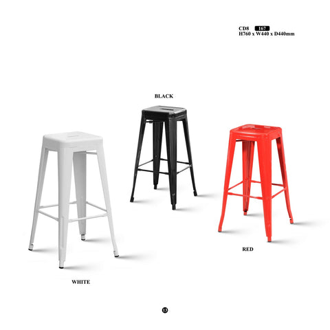 Metal Bar Stool - CD8 - M&N Office Furniture Store