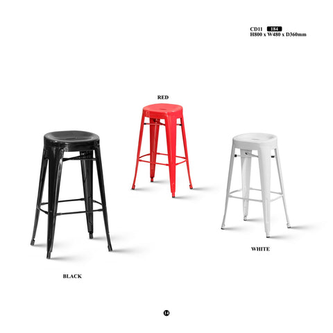 Metal Bar Stool - CD11 - M&N Office Furniture Store
