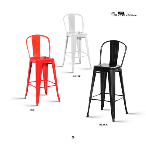 Metal Bar Stool - CD9 - M&N Office Furniture Store