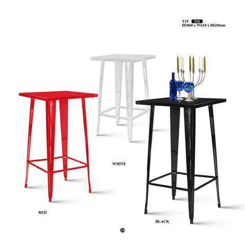 Metal Bar Table - T19 - M&N Office Furniture Store