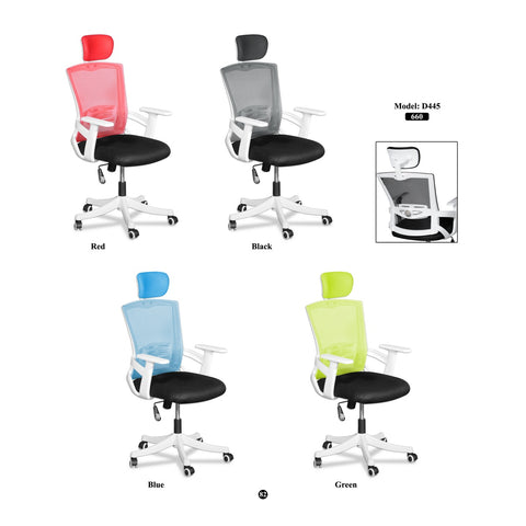 High Back Executive Mesh Chair - D445 - M&N Office Furniture Store