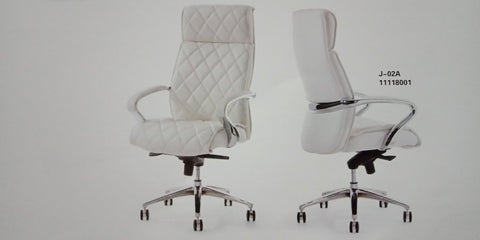 Leather Director Chair - J-02A - M&N Office Furniture Store