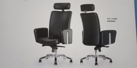 Leather Director Chair - YS-1103A - M&N Office Furniture Store