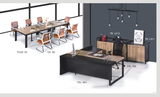 Director Table Set Package Deal - TSL-801+TB-L11+L013 - M&N Office Furniture Store