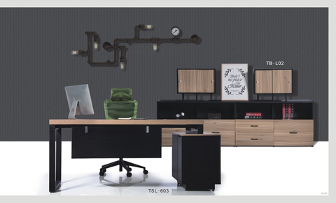 Executive Desk - TSL-603 - M&N Office Furniture Store