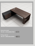 Director Table Set Package Deal - TR-333+TB-310 - M&N Office Furniture Store
