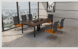 Meeting Table - TSLM-01-Dark Walnut - M&N Office Furniture Store