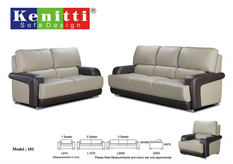 Office Sofa - Contemporary Design - 101 - M&N Office Furniture Store