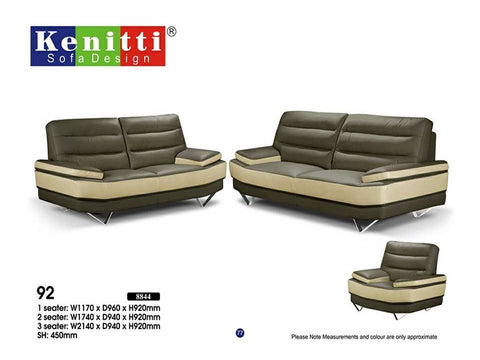 Office Sofa - Contemporary Design - 92 - M&N Office Furniture Store