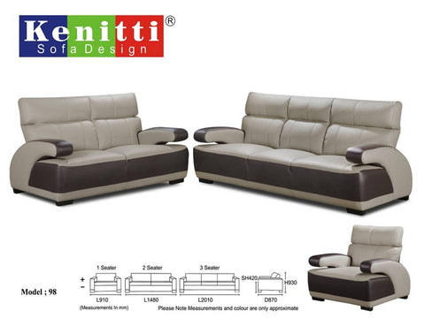 Office Sofa - Contemporary Design - 98 - M&N Office Furniture Store