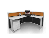 Reception Table - Passiflora Concept - Custom Made - M&N Office Furniture Store