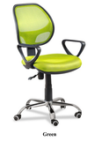 Adjustable low-back mesh chair - MN-D812 - M&N Office Furniture Store
