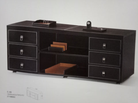 Side filing Cabinet - Leather Series - C-03 - M&N Office Furniture Store