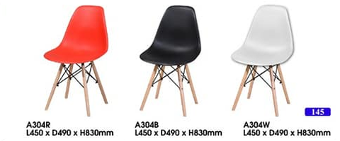 Stylish Designer PP Chair - A304 - M&N Office Furniture Store