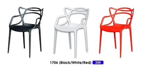 Stylish Designer PP Chair - 1706 - M&N Office Furniture Store