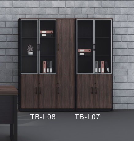 Filing Cabinet - TB-L07-L08-Dark Walnut - M&N Office Furniture Store