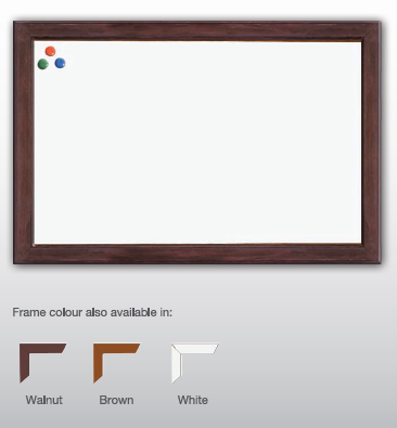 Office Equipment - Writing Board - Wooden frame whiteboard - M&N Office Furniture Store