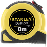 STANLEY STHT36809-0 DUALLOCK TYLON 8m METRIC TAPE MEASURE