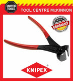 KNIPEX 68 01 200 200mm END NIPPER / CUTTING NIPPERS PLIERS – MADE IN GERMANY