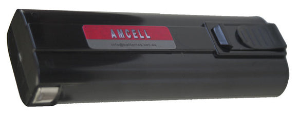 AMCELL 6V 1.3 AH NI-CD BATTERY TO SUIT PASLODE GAS GUNS