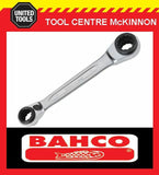 BAHCO S4RM REVERSIBLE RATCHET RING SPANNER – 21/22/24/27mm