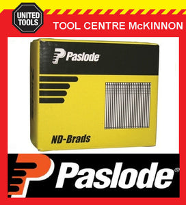 PASLODE 38mm ND SERIES 14 GAUGE GALVANISED BRADS / NAILS – BOX OF 2000