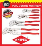KNIPEX 4pce ADJUSTABLE PLIERS WRENCH SET – 8603150, 8603180, 8603250 & 8603300