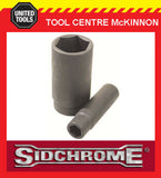 "SIDCHROME 1/2"" DRIVE METRIC 24mm 6pt DEEP IMPACT SOCKET"