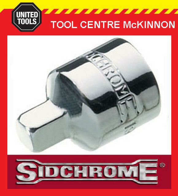 "SIDCHROME SCMT19156 SOCKET ADAPTOR – 1/2"" FEMALE TO 3/8"" MALE"