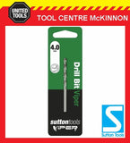 SUTTON VIPER 4.0mm HSS METRIC JOBBER DRILL BIT – WOOD, METAL & PLASTIC