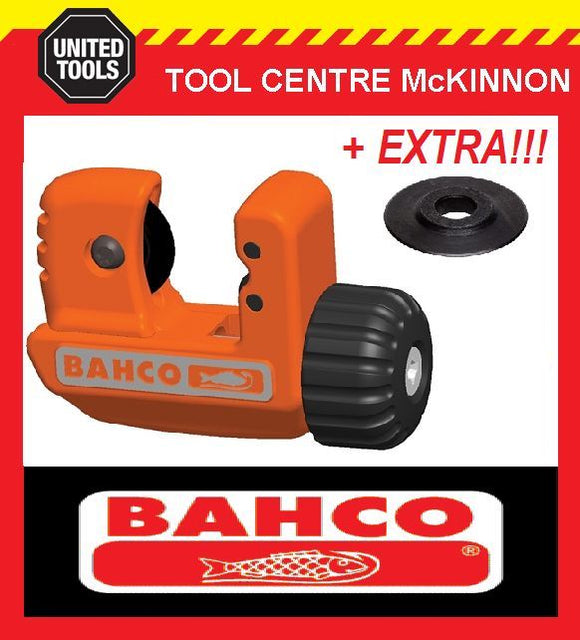 BAHCO 301-22 3-22mm PIPE & TUBE CUTTER WITH SPARE CUTTING WHEEL!