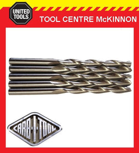 CARB-I-TOOL SMART 10G / 3.8mm COUNTERSINK TOOL REPLACEMENT DRILL BITS X 5