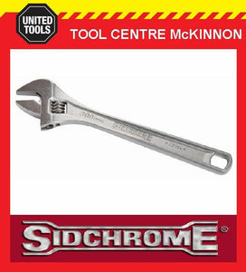 "SIDCHROME SCMT25111 PREMIUM 6"" / 150mm CHROME PLATED ADJUSTABLE WRENCH SHIFTER"