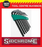 SIDCHROME SCMT29540 9pce LONG ARM BALL POINT HEX / ALLEN KEY SET – IMPERIAL
