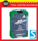 SUTTON D102 SM3 BLUE BULLET 25pce BLUE FINISH METRIC DRILL SET