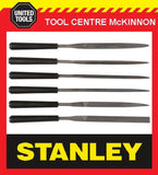 "STANLEY 6pce 4""/100mm NEEDLE / HOBBY FILE SET"