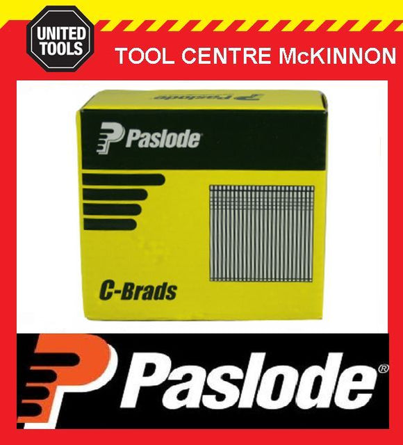 PASLODE 32mm C SERIES 16 GAUGE GALVANISED BRADS / NAILS – BOX OF 3000