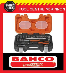 "BAHCO S290 29pce METRIC 1/4"" SOCKET SET"