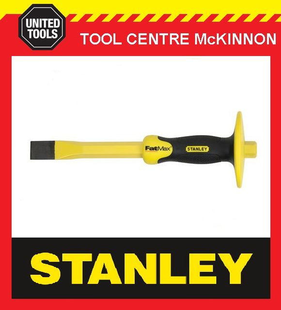 "STANLEY FATMAX 1"" (25mm) COLD CHISEL WITH HAND GUARD"