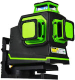 IMEX LX3DG 3-PLANE LITHIUM POWERED GREEN BEAM LASER LEVEL – 2 YEAR WARRANTY